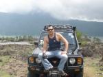 In Mount Batur volcano...