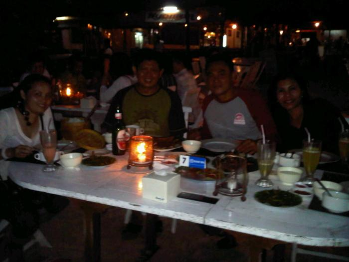 KOPDAR SEAFOOD GRILLED DINNER IN JIMBARAN