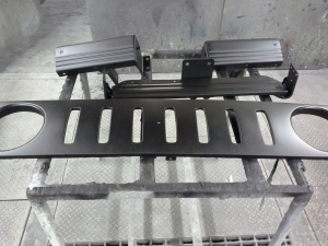 RER BUMPER AND CUSTOM GRILL